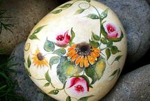 Sassi fiori / Dipinti di fiori