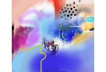 iPad drawings / Contemporary art - iPad drawings