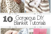 DIY Blankets / It's Michigan! It's winter! It's cold! Let's make some blankets...