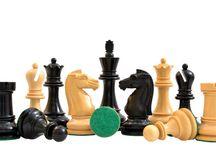 "The British Chess Company (BCC) Reproduced Staunton Double Collared Chess Set / The British Chess Company (BCC) Reproduced Staunton Double Collared Chess Set in Ebony & Box Wood - 4.2"" King"