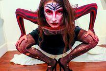 Body Painting Healium Center  Atlanta, Georgia / http://www.flickr.com/photos/e37photography/ #e37photography #bodypainting #makeup #mua #atlanta #BodyArt #KateMarieCreatives #BethanyMcLeanSimon #LivingArtAmerica #HealiumCenter