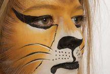Face painting / Schminken / by Frieda Hoppen