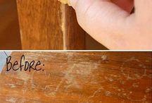 Tapar arañazos madera