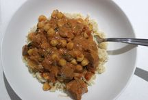 Slow cooker recipes / Pork & chickpea curry