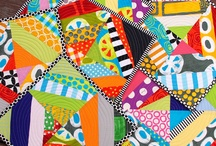 quilty goodness... and pillows, too! / by Sona Saxena Jacob