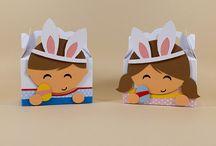 Páscoa / Aqui você vai encontrar várias opções de caixinhas e artigos decorativos para presentear e decorar a sua comemoração da Páscoa. =)
