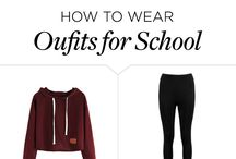 Oufits for school