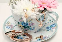 Step into Spring / Jewellery inspiration featuring pretty florals and pastel hues.