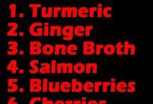 Foods to fight decease
