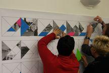 Hub#03 - Puzzle pour Rennes, de Marin Kasimir / Découverte de l'oeuvre de Marin Kasimir, située place du landrel au Blosne, Rennes.