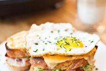 Sandwich und belegte Brote
