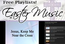 Easter Songs / Classic hymns, and worship songs for Lent, Palm Sunday, and Good Friday, and Easter.