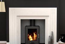 art deco fireplace / art deco fireplace