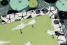 Low Tide / Fabric collection designed by Jane Dixon