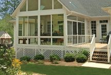 House // HH screen porch