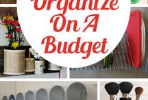 How To Get Organized on the Cheap