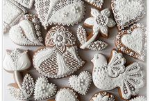 Royal icing cookies / Flood icing cookies