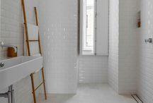 Bathrooms- White