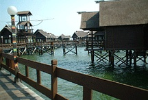 Ayer Island | Pulau Ayer | Pulau Seribu | Thousand Island / 30 Minutes with speed boat from Marina Ancol,North of Jakarta, Has facility like land & floating cottages, swimming pool,jet ski, banana boat,bicycle,meeting room, etc. Further Information : http://pulauseribu-tour.com/ayer-island