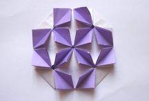 Origami mosaique