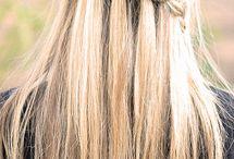 Hair styles, make up likes