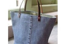 jeans väska