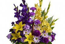 Botanical Sympathy Flowers