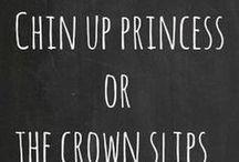 chin up princess