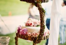 wedding cakes, sweets