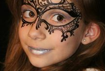 masque face painting