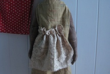 """♥Dolls I ♥ / Cloth Dolls that tug at my heart for over 18 plus years, I always go back to them, Or always have a couple in the works, This is what I sell at my craft shows! People seem to love them .That makes me feel sooo """"Blessed"""" / by Sherrie Nordgren"""