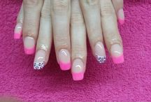 Mijn werk... / Acrylic nails with nailart