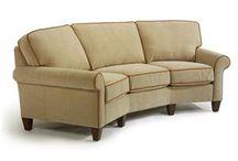 Curved sofa / by Karen Jasper