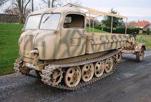 WW2 German  Trucks N Tracks