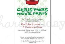 Christmas Movie Sleepover Party
