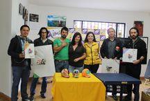 PREMIACION  AIMOLA TIENDA DE ARTE PARA FINALISTAS CONCURSO CRANEANDOLA 2013 / En este tablero encontraras fotografías de la premiacion de Aimola Tienda de Arte nuestro aliado.