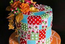 Cakes paint , pacthwork.ect.. beautyful