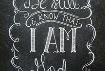 Chalkboard Art / For the chalkboard