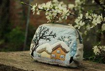 white houses handmade