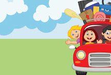 Viajes con Niños / Ideas y actividades para viajes con niños.
