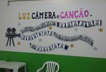 Feira Cultural! Luz, câmera e canção! !