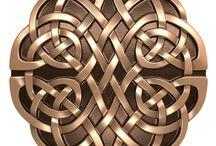 Celtic patterns / keltské vzory