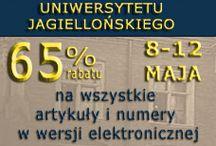 PROMOCJE / Promocje na stronach www.wuj.pl i ejournals.eu