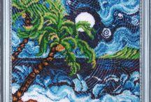 Seascape Bead Embroidery Kits