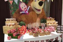 Masha & The Bear Party