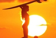 5k ac / homage to the endless summer creative -- silhouettes; the heat of summer and being in a crowd; introspective imagery, superimposition