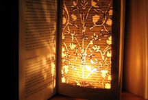 book lamp