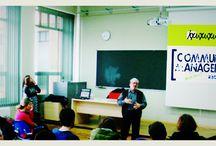 Enseñando a Emprender con Valnalón / Charla para el Ciclo Formativo de Informática y Comunicación y Administración y Gestión del CIFP LA LABORAL en Gijón, sobre la tarea del emprendimiento