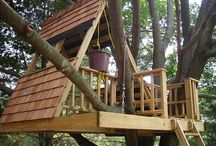tree houses and cubbys