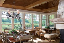 Inviting Porches & Decks / These inspirations were pinned while designing a Boulder County remodel, 2014.